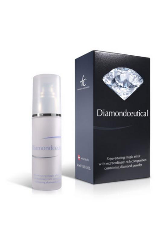 Diamondceutical gyémántpor tartalmú bőrfiatalító elixir 30ml
