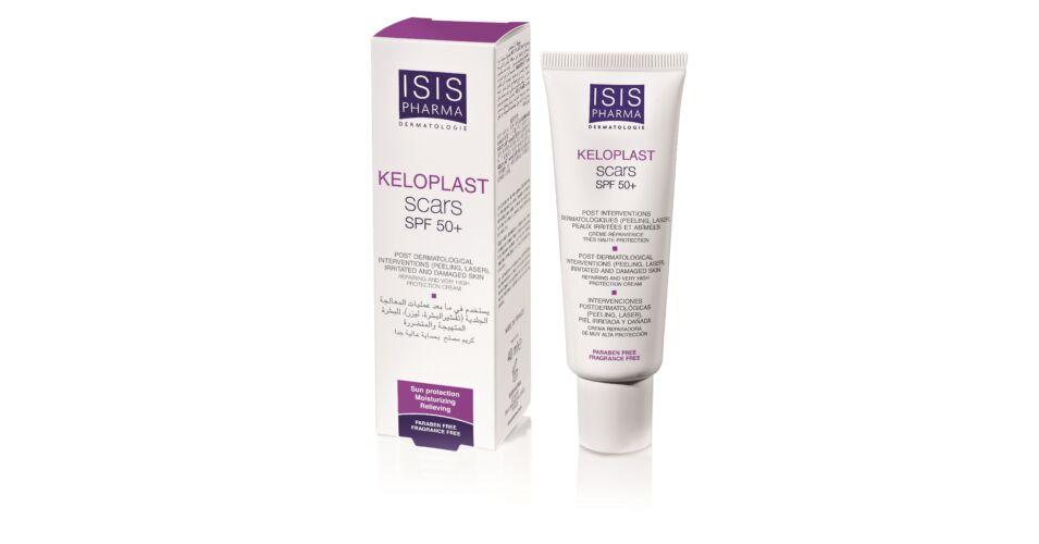 Isispharma Keloplast Scars SPF50+ hámosodást segítő krém 40ml